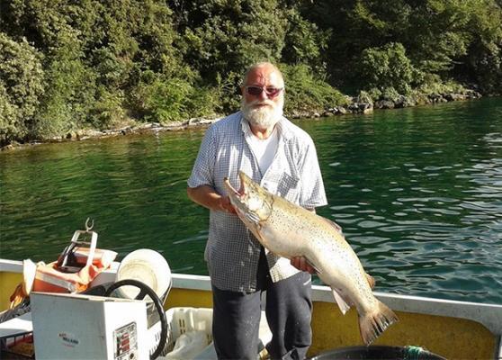 <b>Adriano,</b> der Fischer aus Malcesine