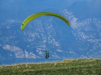 Gleitschirmfliegen auf dem Monte