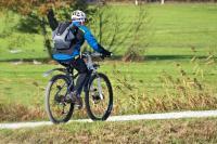 In bici a Malcesine, sul Lago di Garda