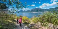 The Nordic Walking Park of Brenzone